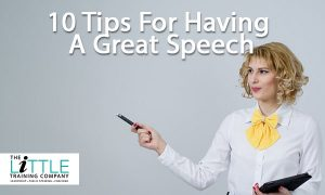 10 Tips to Have a Great Speech